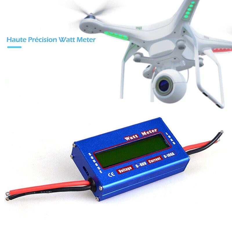 Professional 100A 60V DC Digital Wattmeter Watt Meter Power Meter Balance Voltage Battery Checker
