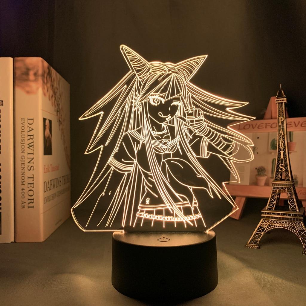 He34d3502b3a145ab8c1a72a7e58a9e47U Luminária Danganronpa led night light ibuki mioda lâmpada para decoração do quarto crianças presente danganronpa acrílico 3d lâmpada ibuki mioda