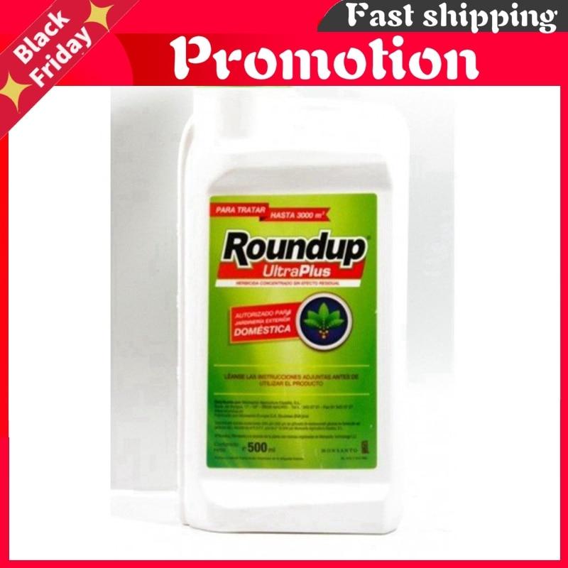 Total herbicide glyphosate Roundup Ultra Plus. 500 cc.