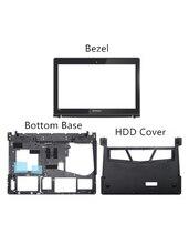 Mới Ban Đầu Cho Lenovo Y400 Y400N Y410P Y430P LCD Khung Trước Ốp Viền Đáy Dưới RAM HDD Bao