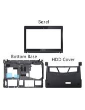 New Original For Lenovo Y400 Y400N Y410P Y430P LCD Front Frame Bezel Bottom Base Bottom HDD Ram Cover