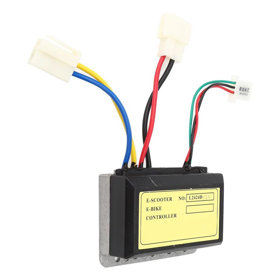 Stable Performance Convenient to Use Electric Bicycle Accessory for D-olphin Electric Scooter Sturdy and Durable 12V Brush Controller Controller for E-Bike
