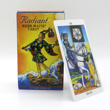 2019 New Full English Radiant Rider-Waite Tarot Cards Game With Booklet Instructions Rider Waite Board
