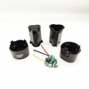 Image 3 - Furadeira elétrica de mão 3s bms li ion 12.6v 18650, pcb com caixa de armazenamento, acessórios para kit de broca de mão chave de fenda elétrica,