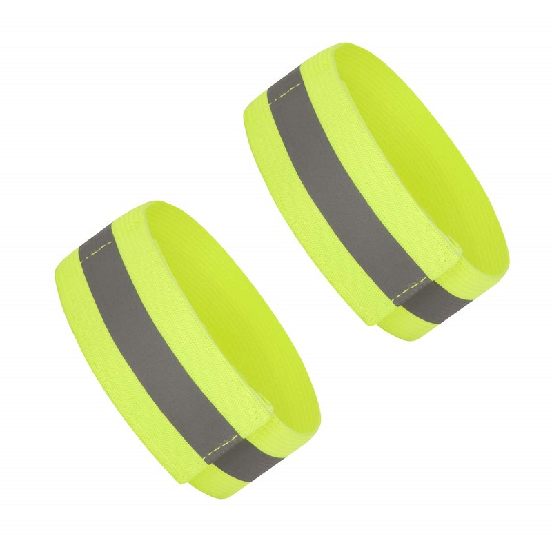 High Visibility Reflective Running & Cycling Arm & Ankle Bands. High Vis 1 Pair(2PCS)