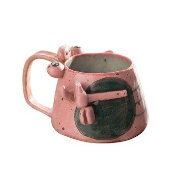 Taza De cerámica Vintage hecha a mano, Tazas creativas con personalidad, diseño...