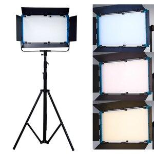 Image 5 - 75W Yidoblo A 2200BI LED וידאו תאורת DMX פנל Ultra בהיר חם & קר מקצועי סטודיו צילום להמשיך תאורה