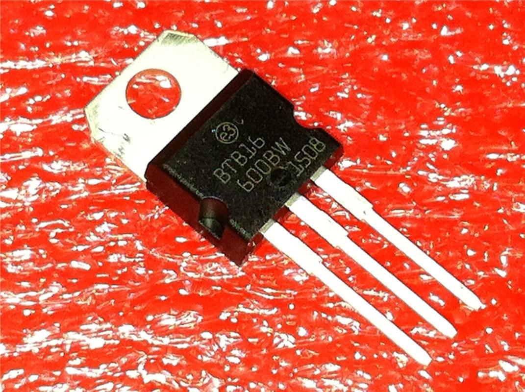5pcs/lot BTB16-600BW BTB16 600BW TO-220 In Stock