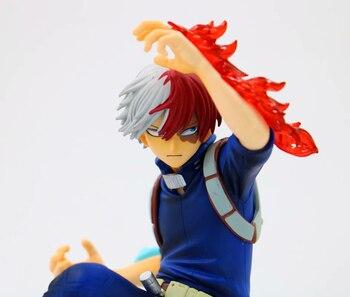 My Hero Academia The Amazing Heroes Figure Vol1. Smack Midoriya Izuku Bakugou Katsuki Shoto Todoroki Shoto Figure Toys