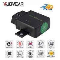Gps tracker carro obd localizador traseiro 3g 4g 2g obdii ferramenta de diagnóstico dtc código voz monitor alarme vibração geo rastreamento em tempo real!
