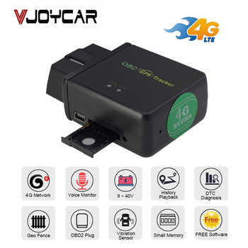 GPS Tracker Car OBD Locator Rear 3G 4G 2G OBDii Diagnostic Tool DTC Code Voice Monitor Vibration Alarm Geo Real Time Tracking! - DISCOUNT ITEM  35% OFF All Category