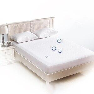 Image 3 - 160X200 Matress Cover 100% Protector de colchón impermeable a prueba de insectos antipolvo cubierta de colchón para colchón