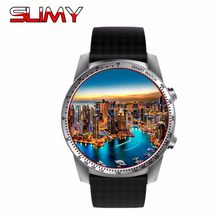 Slijmerige KW99 Android 5.1 Os Slimme Horloge Telefoon 3G MTK6580 512 Mb 8 Gb Wifi Gps Smartwatch Hartslag monitor Wearable Apparaten Pk KW88(China)