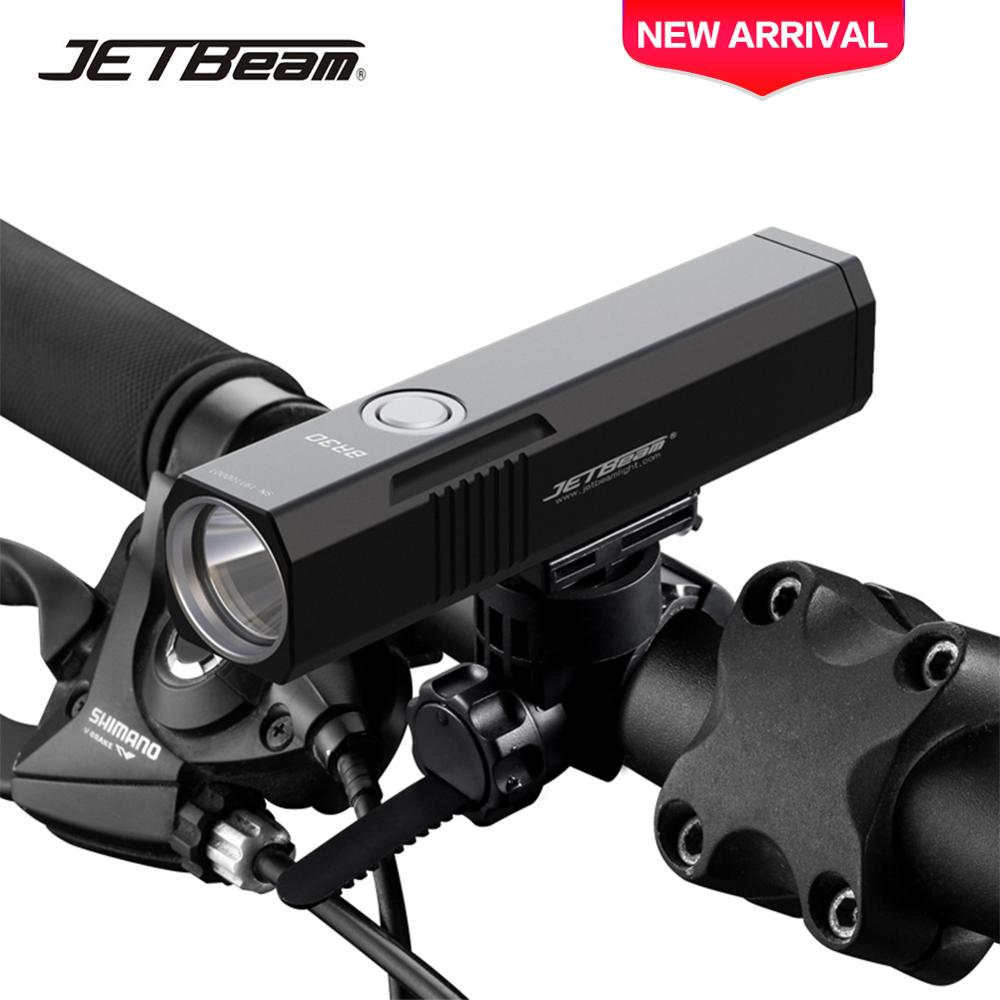 JetBeam BR30 Ultra-Bright Bicycle Light Bike Light 1800LM XPH35 LED Bicycle Front LED Flashlight Lamp USB Recharge Cycling Light