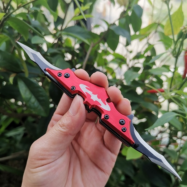 Bat Utility Survival Folding Blade Knife Hunting Knife Mini Pocket Tactical Knives Camping Outdoor Tools