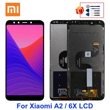 5 99 #8222 dla XiaoMi Mi A2 wyświetlacz MIA2 wyświetlacz LCD ekran Digiziter części zamienne do XiaoMi MI 6X LCD tanie i dobre opinie NONE CN (pochodzenie) Ekran pojemnościowy 2160x1080 3 For XiaoMi Mi A2 6X LCD i ekran dotykowy Digitizer Black White