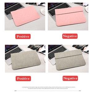 Image 5 - Opaco Morbido Manicotto Del Computer Portatile Borse di Caso Per Apple Macbook Air 13 11 Retina 15 13 12 pollici, copertura per il 2019 nuovo Pro 16 Con power pack
