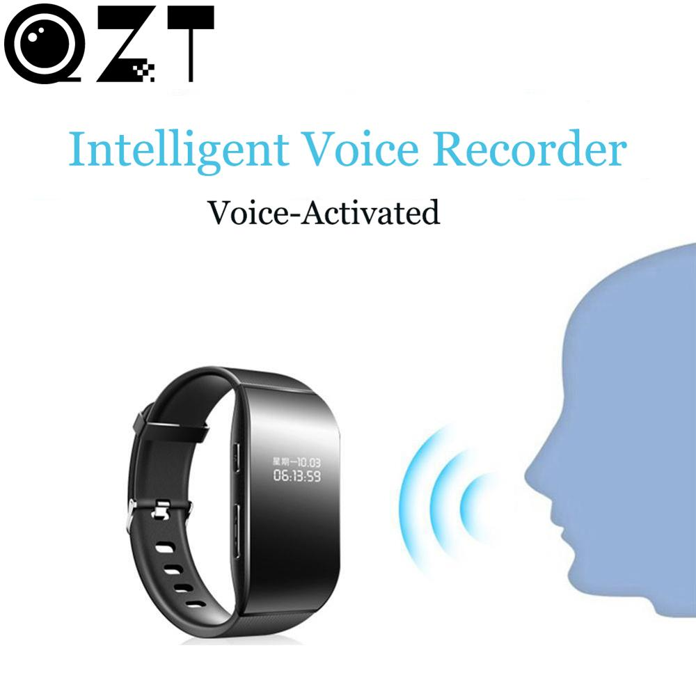 8GB Digital Voice Recorders Wrist Watch Wristband Business Audio Recording Dictaphone MP3 Voice Activated Sound Recorder