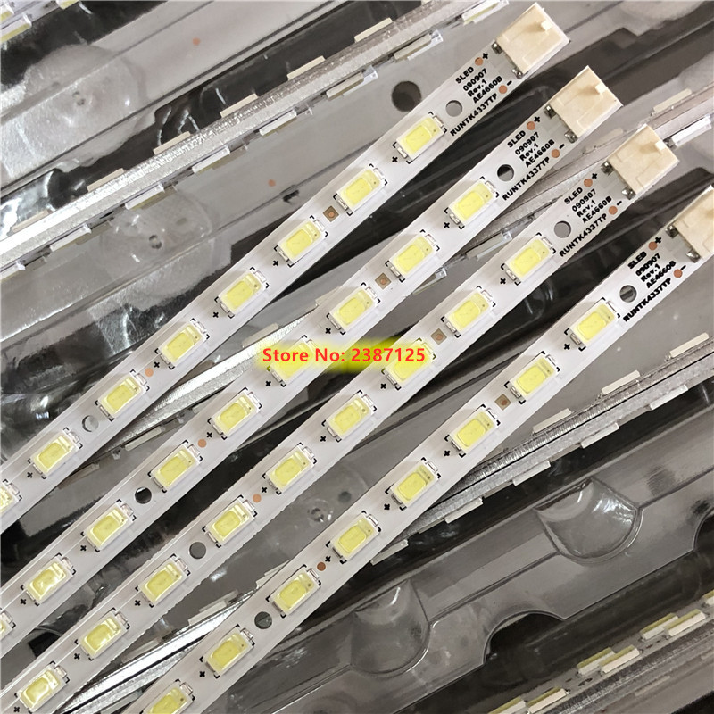 4pcs 520mm LED Backlight Lamp Strip 54leds For KDL-46EX700 LK460D3LA8S RUNTK4337TP SLED090907REV.1 AE4660B LCD TV Monitor