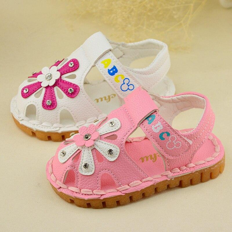 IENENS Summer Child Kids Girls Boys Sandals Children Girl Sandal Flat Heels Shoes Without Box