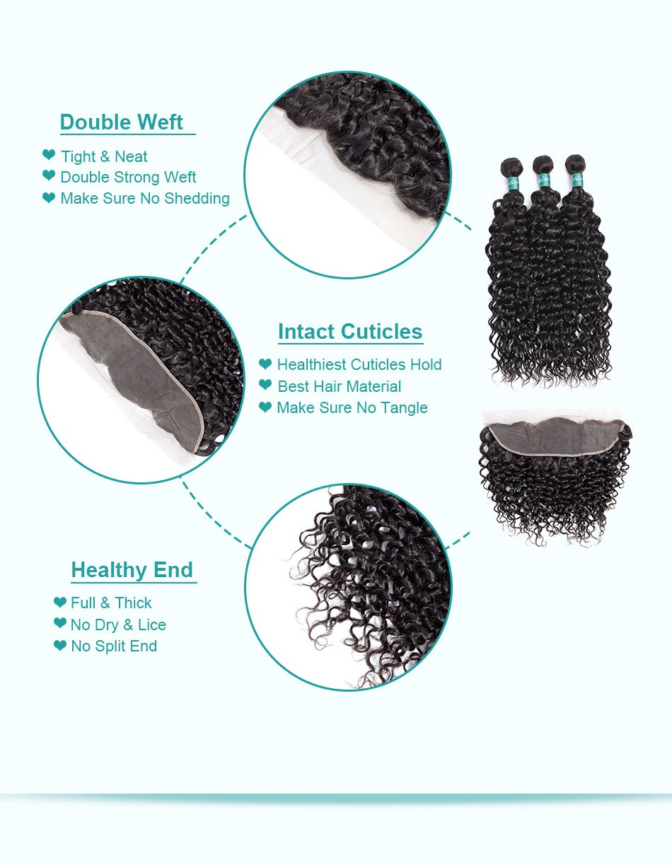 water wave hair weave 3 4 bundles with frontal--3+13_07