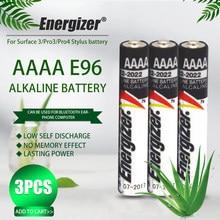 3 sztuk Energizer 1.5V AAAA Bateria alkaliczna LR61 AM6 sucha Bateria E96 LR8D425 MN2500 MX2500 4A dla Stylus Laser z Bluetooth Pen zabawki
