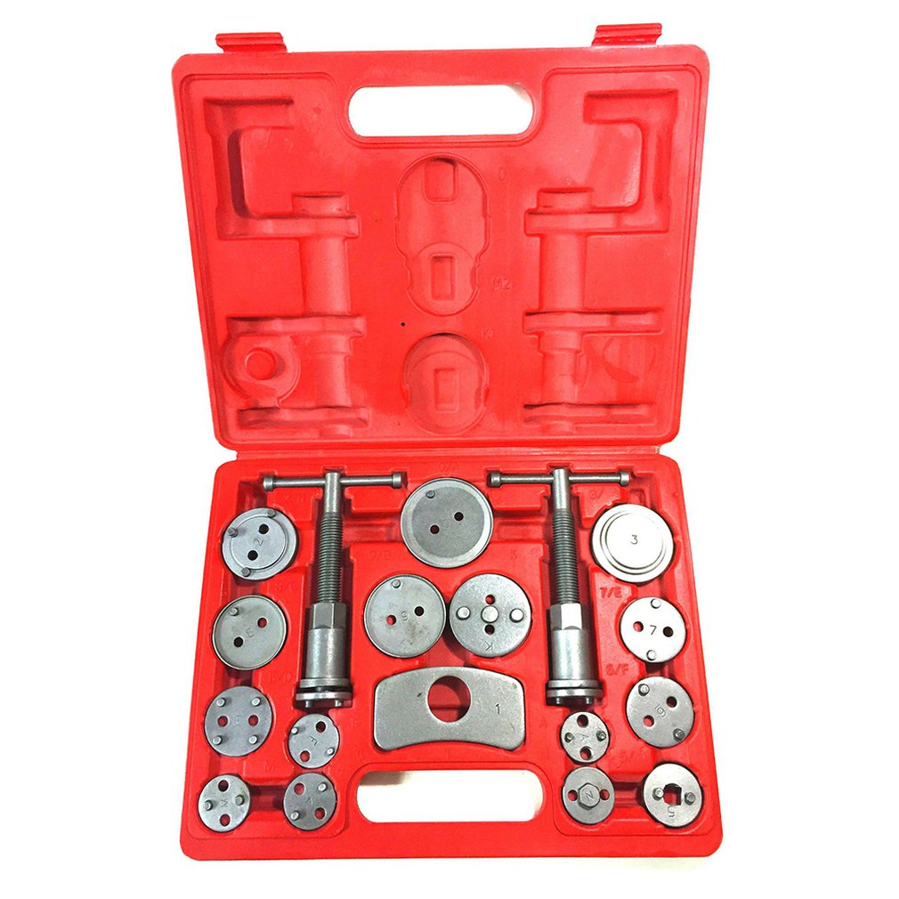 Universal Auto Disc Brake Caliper  Steel  Wind Back Brake Piston Compressor Car Repair Tools 12 Pieces Set