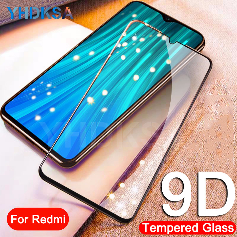 9D Protective Glass On The For Xiaomi Redmi 6 Pro 7 7A 6A S2 K20 Redmi Note 6 7 8 Pro Tempered Screen Protector Glass Film Case