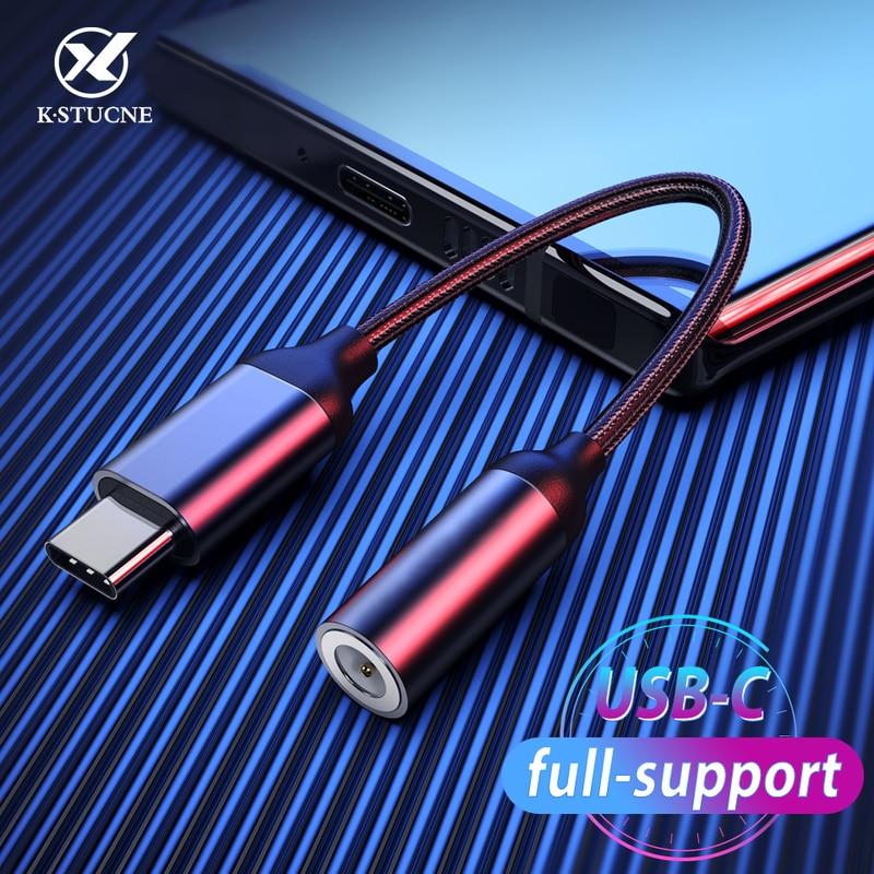 Type C 3.5 Jack Earphone USB C To 3.5mm AUX Headphones Adapter For Huawei P30 Pro Xiaomi Mi9 MI8 SE Oneplus 7 Audio USBC Adapter