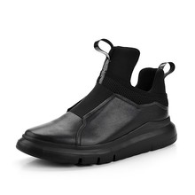 Brand Men High Top Trainers Sneakers Genuine Leather Thick P