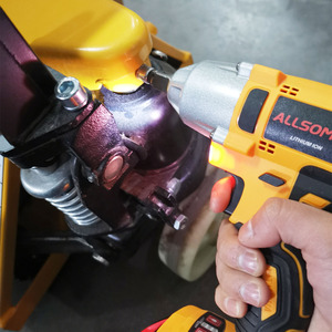 Image 3 - ALLSOME 98VF 320Nm 12000mAh Cordless Electric Impact Wrench Drill Screwdriver 110 240V