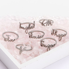 Rings Ring-Accessories Decoration Gifts Boys Kpop Bangtan Silver for Men Women Fashion