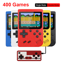 Retro Portable Mini Handheld Game Console 500mAh Battery 3.0 Inch Color LCD Kids Color Game Player Built in 400 Games