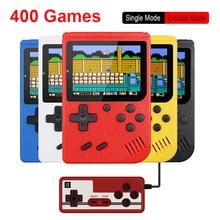 Retro Tragbare Mini Handheld Spielkonsole 500mAh Batterie 3,0 Zoll Farbe LCD Kinder Farbe Spiel Player Gebaut in 400 spiele