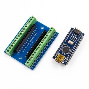 Image 2 - 1pcs NANO V3.0 3.0 Controller Terminal Adapter Expansion Board NANO IO Shield Simple Extension Plate For Arduino AVR ATMEGA328P