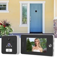 Digital Door Camera 4.3 Inches 960P WiFi Wireless Digital Door Viewer IR Doorbell Video Intercom Monitor yobangsecurity 5 inch monitor wifi wireless digital peephole door viewer camera video door phone doorbell camera intercom system