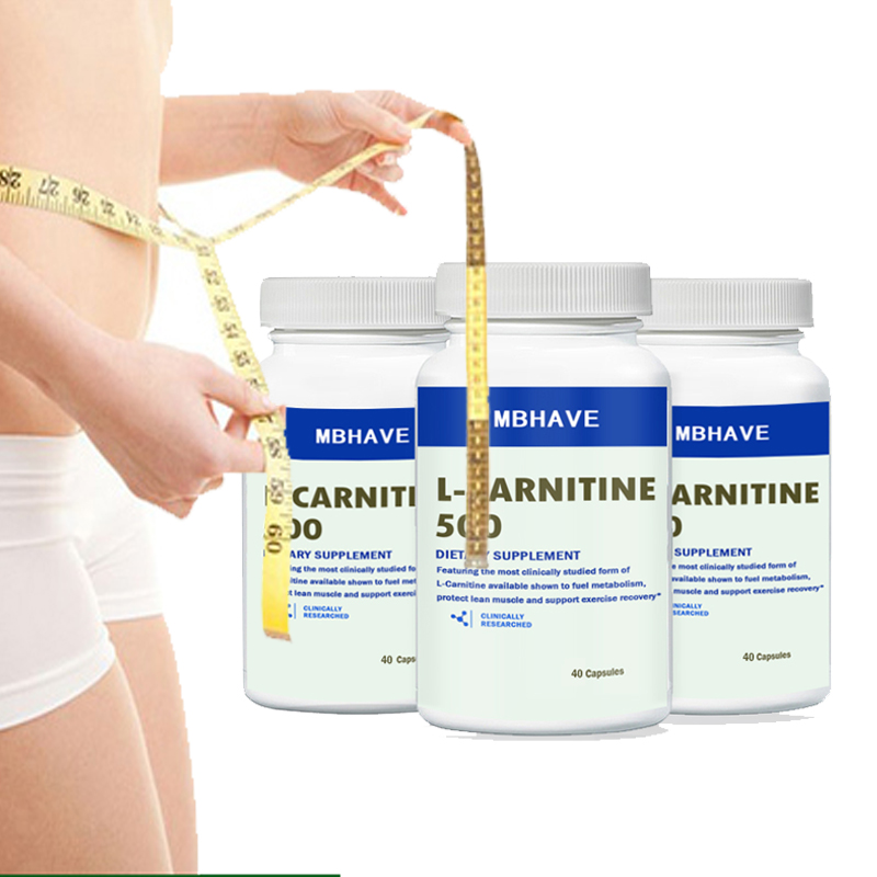 2019Hot Sale Buy 2 Get 1 Bottle (90*3=270 Caps) L Carnitine Add Fat Burning And Helps Recover From Sports