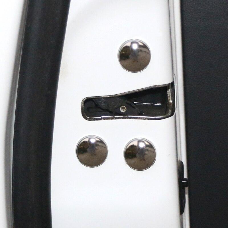 12 шт./компл. Автомобильный Дверной замок Защитная крышка винта для Toyota Prius avensis auris hilux Corolla Camry prado supra RAV4 аксессуары