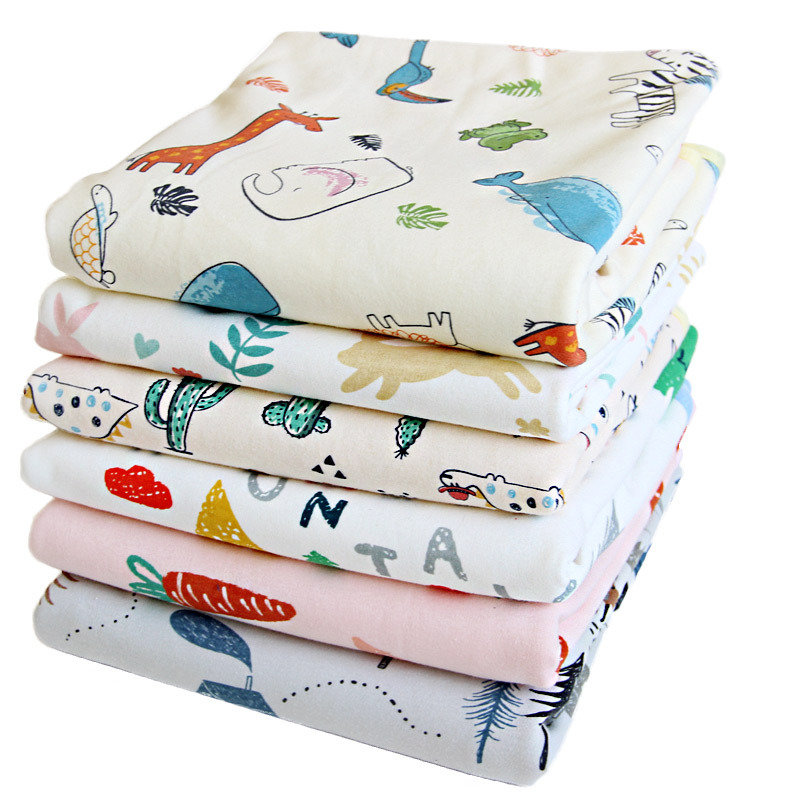 Baby Mattress Waterproof Crawling Infant Diaper Nappy Urine Mat Durable Kids Washable Changing Pad For Newborns Cotton 50*70CM