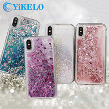 Cover For iPhone 6 6S 7 8 Plus X XS XR Max Love Heart Glitter Phone Case For Xiaomi Mi A3 CC9 CC9E 9T Redmi Note 6 7 7A K20 Pro(China)