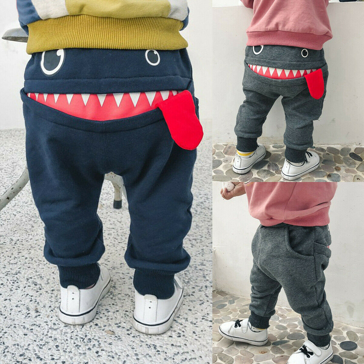 Newborn Baby Boys Fashion Clothing Toddler Infant Cotton Casual Pants Trousers