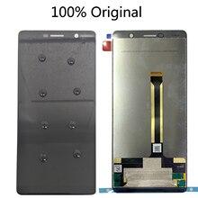 """100% оригинальный 6.0"""" для Nokia 7 плюс / Е7 плюс ТП-1062 та-та 1046-1055 1049 ЖК-дисплей с сенсорным экраном дигитайзер"""