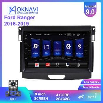 босоножки no 2015 20 stylenanda 2015 OKNAVI 9'' Android 9.0 Car Multimedia Player For Ford Ranger 2015-2019 Radio Stereo GPS Navigation Head Unit SWC 4G WIFI No DVD