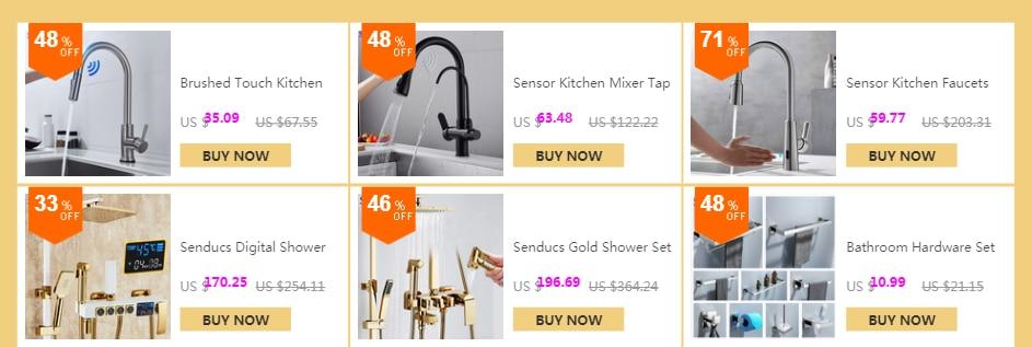 He353208e7121496eae0b343714bb8d4ez Hot and Cold Digital Shower Set Faucet Bathroom Shower System Black Gold Shower Faucet Square Shower Head Bath Shower System