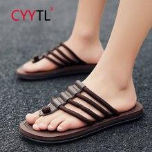 Cyytl/высококачественные мужские вьетнамки; Летняя обувь; Тапочки
