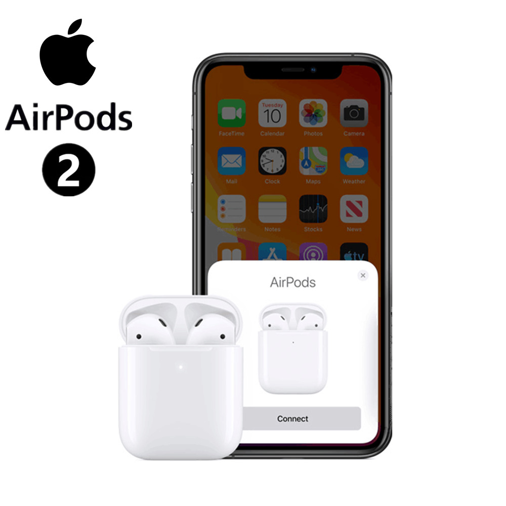Kopfhörer <font><b>Apple</b></font> <font><b>AirPods</b></font> 2 mit wireless charging fall air schoten image