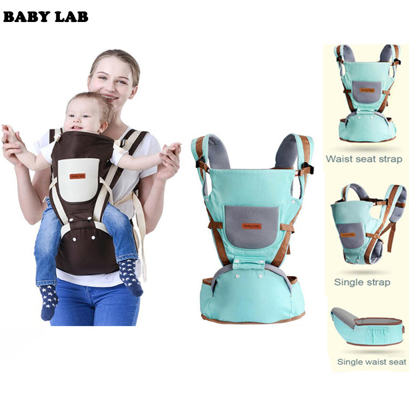 Baby Carrier Baby Kangaroo Bag Breathable Front Facing Baby Carrier 4 in 1 Infant backpack Pouch Wrap baby Sling for newborns-in Backpacks & Carriers from Mother & Kids on AliExpress