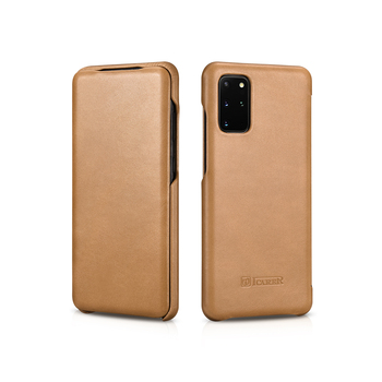 Icarer Luxury Leather Case for S20 Plus Flip Book Cover for Samsung Galaxy S20 Ultra S20 Genuine Leather Protecive Case for S20 фото