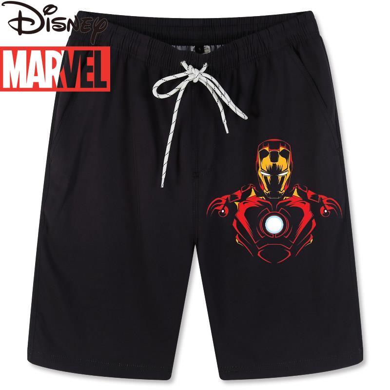Marvel Captain America Iron Man Avengers Boys Summer Beach Pants Shorts