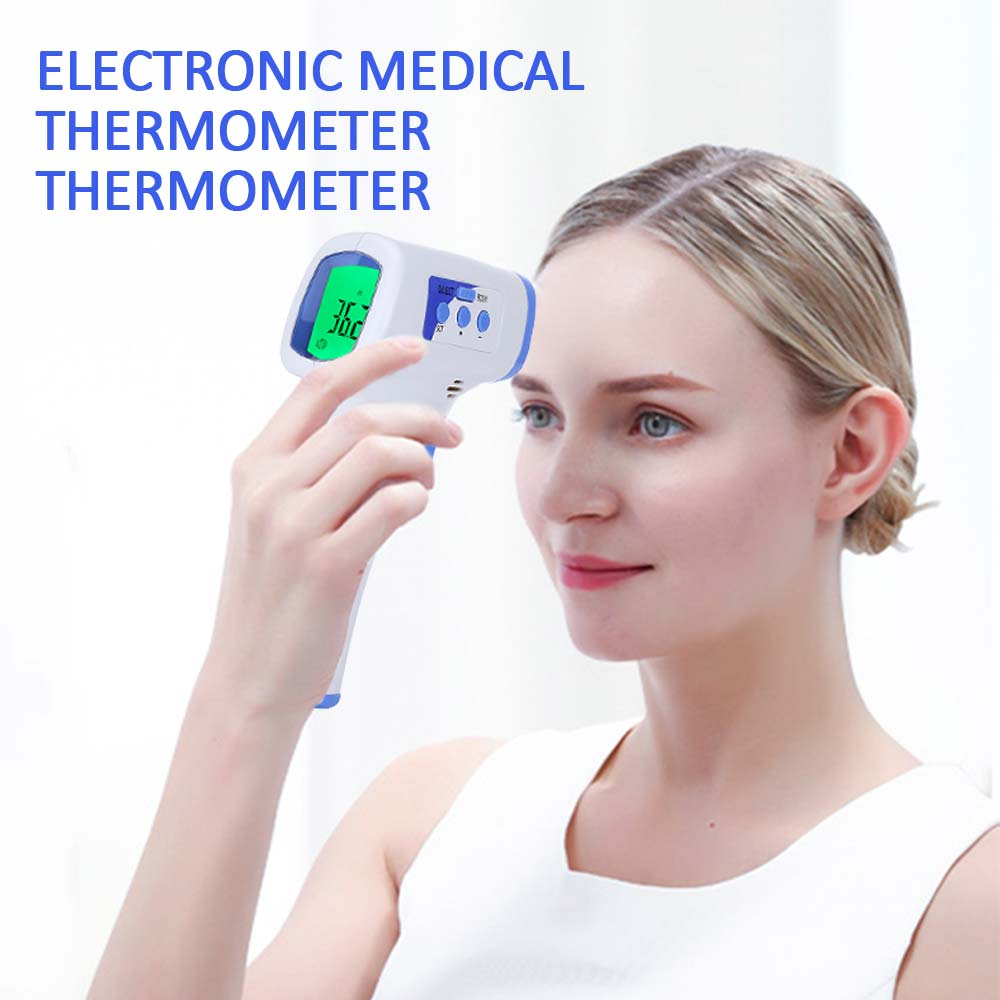 Thermometer Infrared Digital LCD Body Measurement Forehead Ear Non-Contact CE Certified Adult Body Fever IR Children Termometer